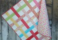 woven ladybug garden quilt as you go ba blanket blog Modern Easy Quilt As You Go Patterns Gallery