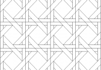 woven ribbons coloring page 11 New Quilt Patterns Coloring Pages Inspirations