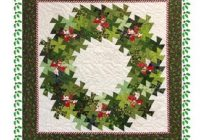 wreath pinwheel twist martha d zines quilting pattern Interesting Twister Quilt Pattern Wreath Gallery