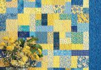 yellow brick road quilt pattern atkinson designs atk 126 fat quarter friendly pattern multi size quilt pattern easy quilt pattern Elegant Yellow Brick Road Quilt Pattern Inspirations