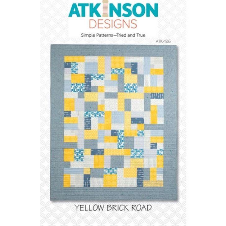 Permalink to Modern Quilt Pattern Yellow Brick Road