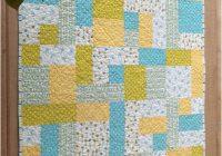 yellow brick road quilt pattern tutorial fat quarters ba Elegant Yellow Brick Road Quilt Pattern Inspirations