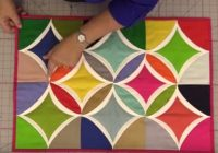 youll love this easy method for cathedral windows Stylish Cathedral Windows Quilt Pattern Inspirations