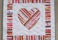 youre mine selvage heart applique quilt pattern from quilts elena full sized templates and clear instructions Modern Heart Applique Quilt Patterns