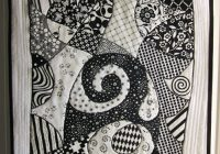 zentangle quilt free quilting tutorial love to sew Cozy Zentangle Quilting Patterns Gallery
