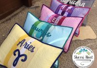 zodiac quilted pillow sham Stylish Quilted Pillow Sham Pattern Gallery